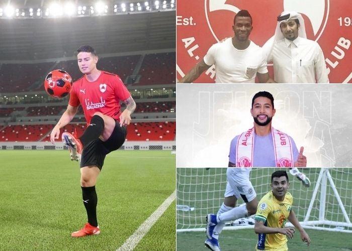 James Rodríguez y los jugadores colombianos que prefirieron los petrodólares a la competitividad