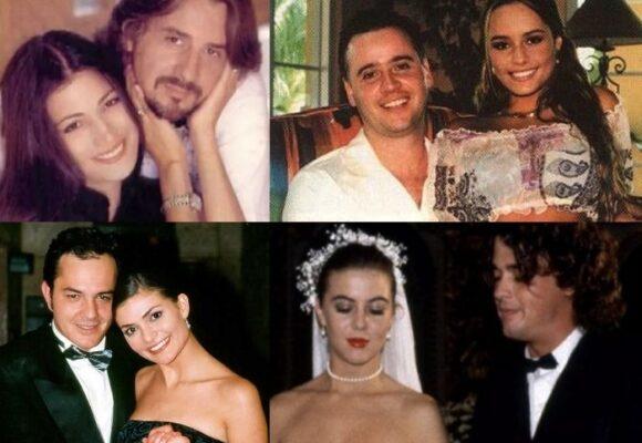 Bellos e infelices: los matrimonios más cortos de la farándula colombiana