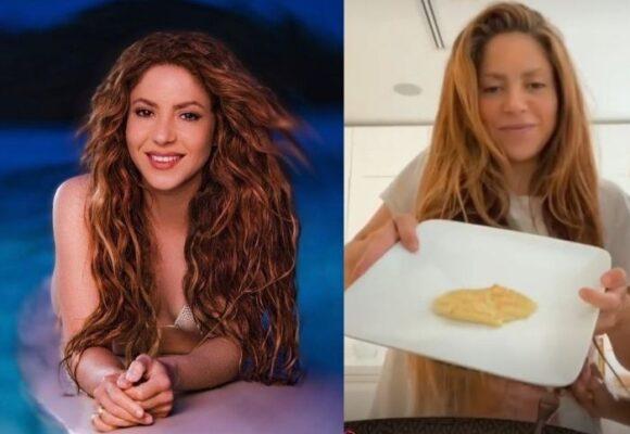 El fracaso de Shakira en la cocina