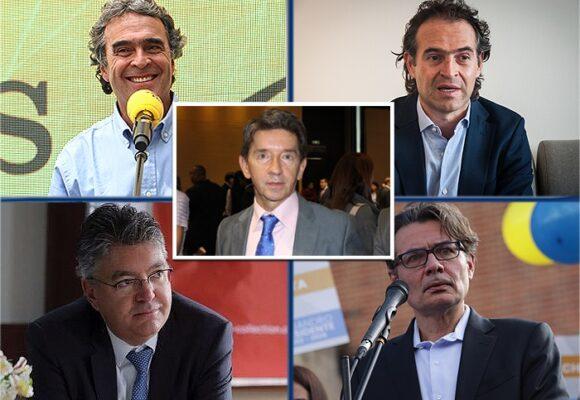 Cinco paisas en la carrera por la presidencia