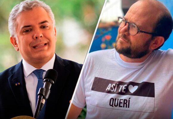 La razón por la que el presidente Duque censuró a Daniel Samper Ospina en sus entrevistas