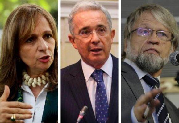 Uribe, Mockus, A. M. Robledo y los congresistas que no se quedaron hasta el final