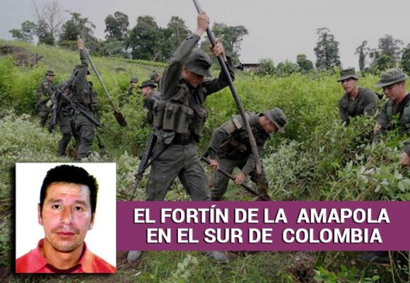 Un exguerrillero de las Farc, el duro de la heroína en Colombia