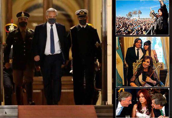 El agarrón de Cristina K con Alberto Fernández que sacudió su gobierno