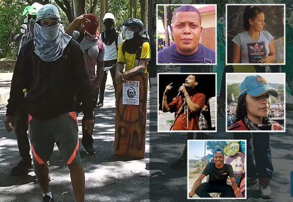 Los jóvenes caleños que se quitaron la capucha para buscar votos