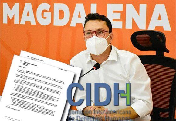 El espaldarazo de la CIDH a las denuncias de Caicedo por amenazas