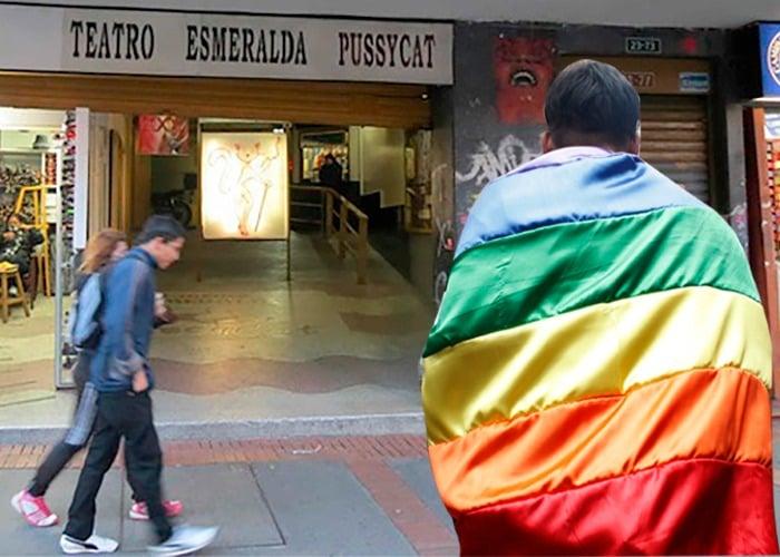 El último cine porno de Bogotá, ahora un rincón de amor gay