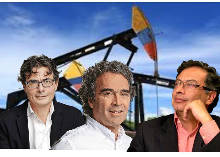 Los candidatos y el debate de Colombia pospetróleo