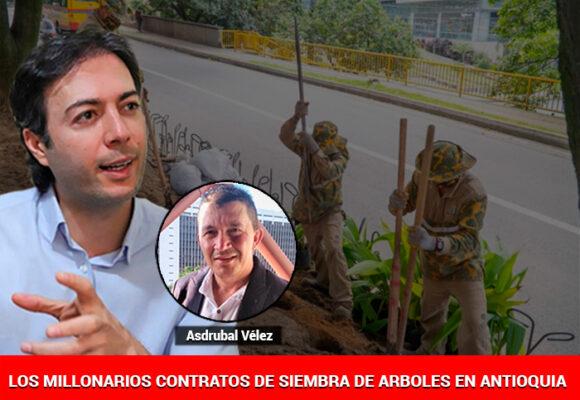 El poderoso Asdrúbal Vélez, el megacontratista protegido de Daniel Quintero