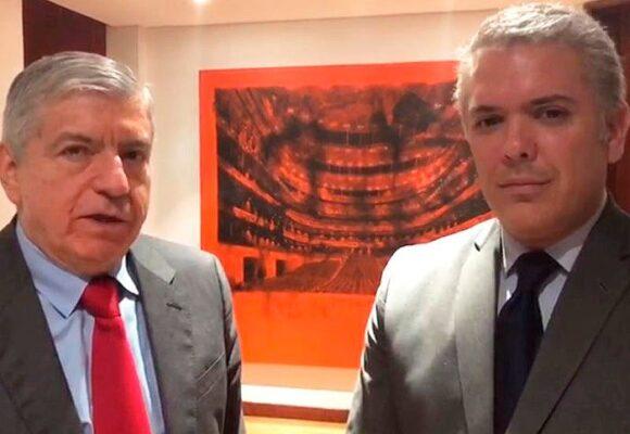 El inesperado encuentro del Presidente Duque y su duro contradictor Cesar Gaviria