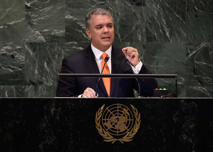 El país maravilloso de Duque en la ONU