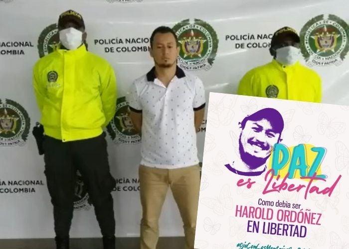Un nuevo fiasco de la policía: la captura de Harold Ordóñez como el más buscado del Valle