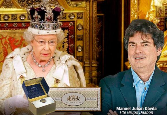 Los jabones del Grupo colombiano Daabon que la reina Isabel de Inglaterra recomienda