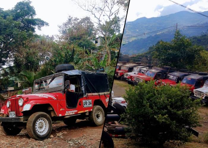 """Los dueños que manejan el negocio de los """"jeeps"""" en las laderas de Cali"""