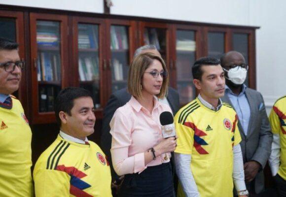 Presidenta de la Cámara radicó proyecto sobre fútbol en pleno debate de reforma tributaria