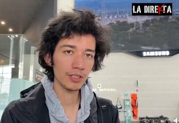 Cristian Guzmán, editor de La Direkta, tuvo que salir corriendo del país