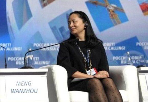 La hija del fundador de Huawei fue liberada en Canadá