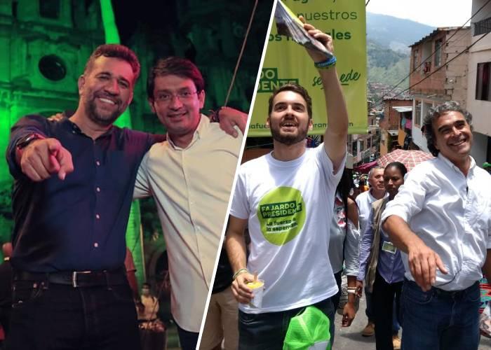 Así se mueve el partido Verde en Antioquia