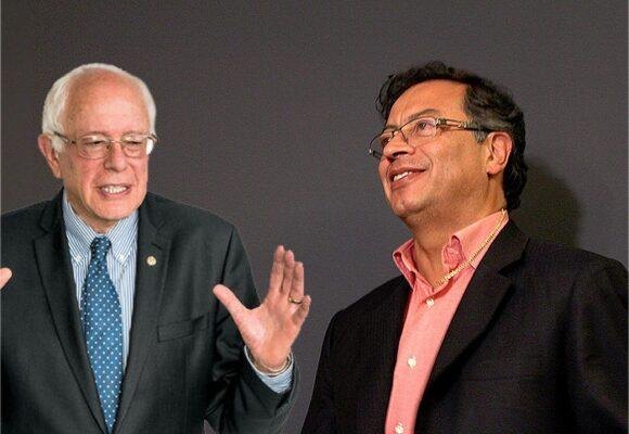¿De qué habló Petro con Bernie Sanders?