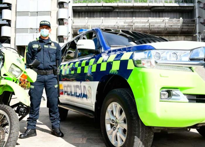 La Policía de Bogotá: ¡más, imposible!