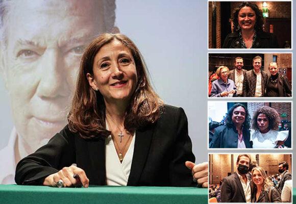 Presentación de Santos e Ingrid Betancourt terminó en cumbre política