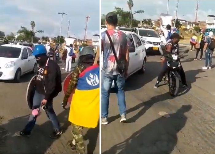 Por qué volvieron a bloquear Puerto Rellena en Cali