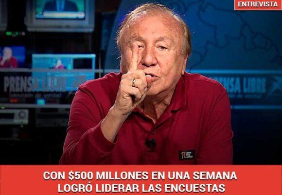 La multimillonaria campaña de Rodolfo Hernández para llegar a la Presidencia