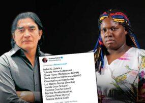 Gustavo Bolívar dejó colgada a la lideresa Yolanda Perea
