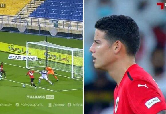VIDEO: el golazo con el que James presiona a Rueda para estar en la selección