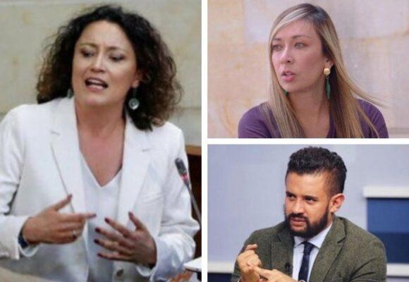 Fuego amigos en los Verdes: Inti Asprilla y Katherine Miranda contra Angélica Lozano