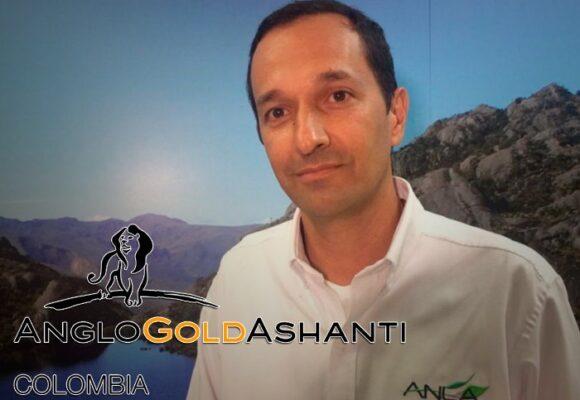 El director de le ANLAque frenó la gigante minera AngloGold Ashanti
