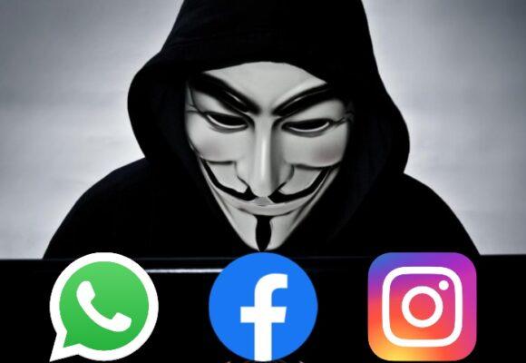 Caída de Instagram, Facebook y WhatsApp: ¿ataques de Anonymous para hacerse oír?