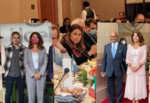 La maratónica agenda de la canciller Martha Lucia Ramírez