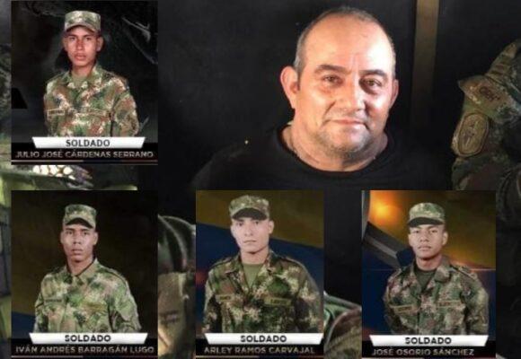 4 militares cayeron en venganza por captura de Otoniel