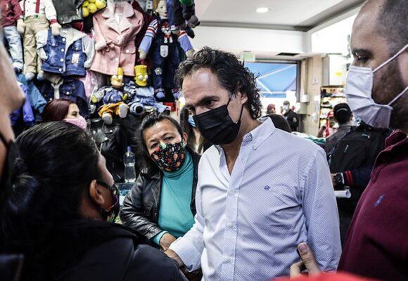 El paisa Federico Gutiérrez no pasó la prueba en el sur de Bogotá