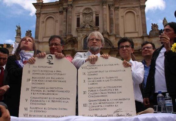 Para gobernar este ingobernable país, el Pacto Histórico se abre a 'otras democracias'