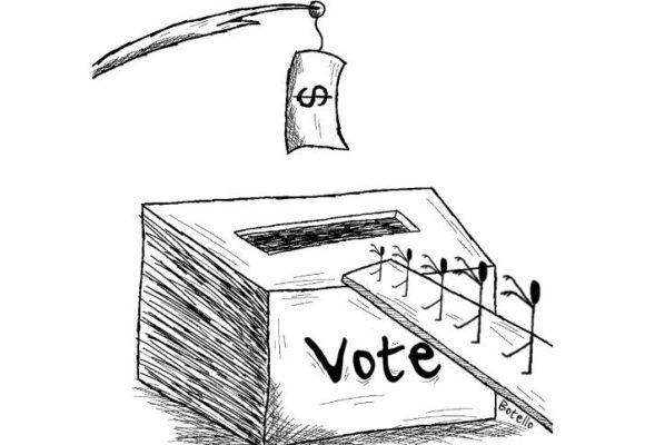 Caricatura: Sin garantías
