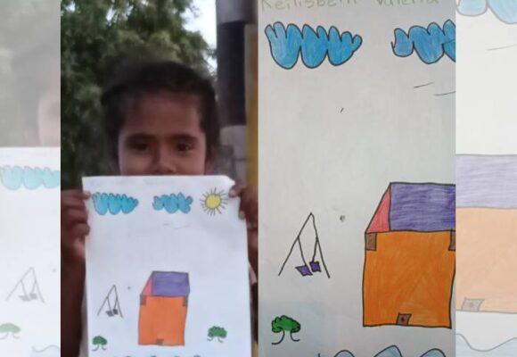La migración venezolana contada por los niños