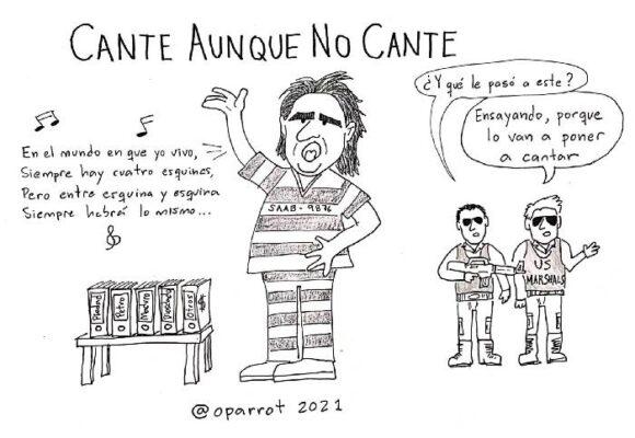 Caricatura: Cante aunque no cante