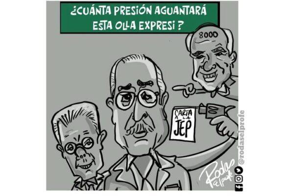 Caricatura: Olla expresi