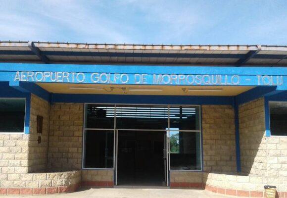 Organizan plantón para exigir modernización del aeropuerto de Tolú
