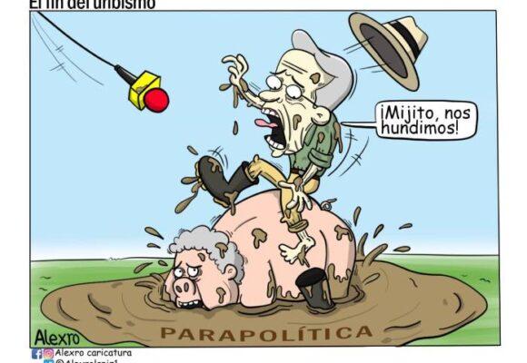 Caricatura: El fin del uribismo