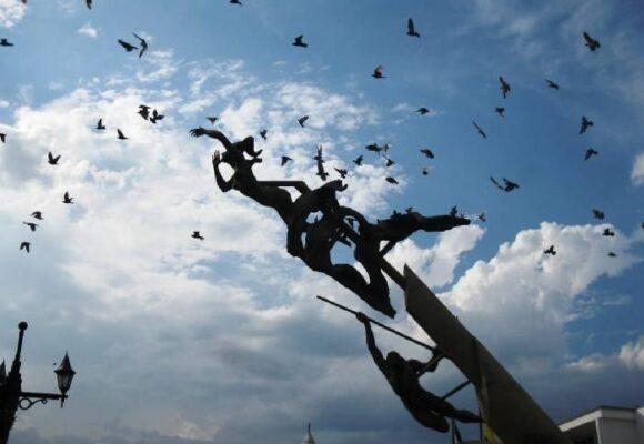 El hombre de las palomas