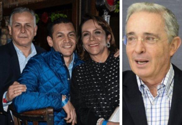El premio de Uribe presidente a los papás de minInterior Palacios