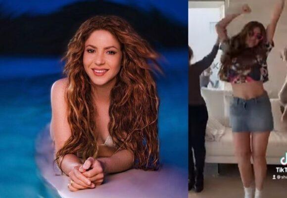 ¿Embarazada? Shakira despierta rumores con su nueva coreografía