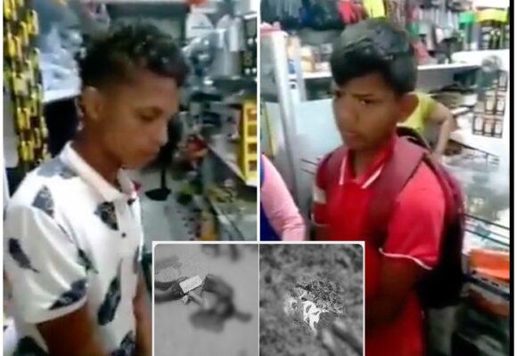 Dos jóvenes fueron atrapados robando y aparecieron muertos en una carretera