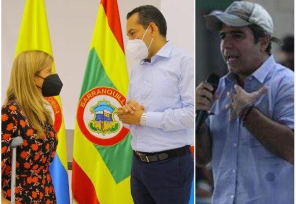 El grupo de Álex Char corona con el nuevo rector de la Uniatlántico