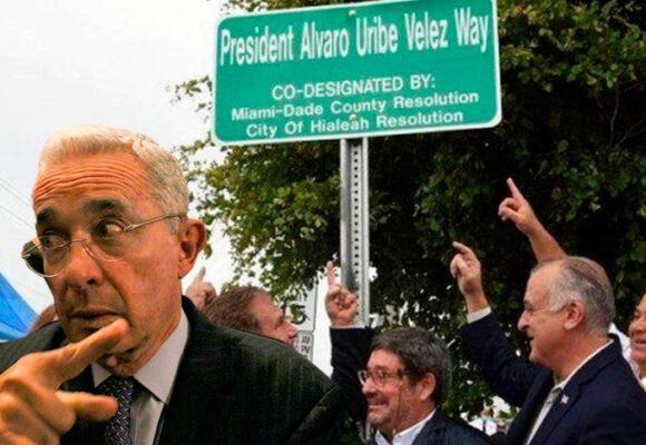 El alcalde gringo que hizo posible la calle con el nombre de Uribe en Estados Unidos