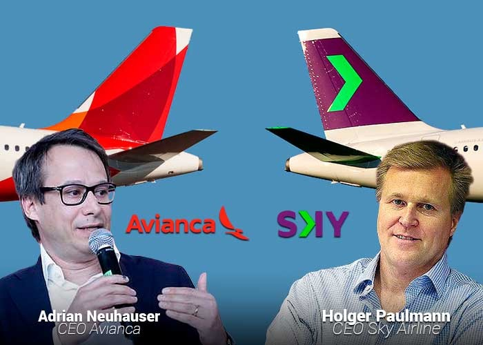 Sky Airlines, la chilena de bajo costo en coqueteos con Avianca