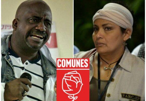 La disputa de Victoria Sandino y Benkos Biohó con Comunes para repartirse las 10 curules del acuerdo